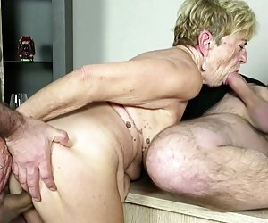 Granny Threesome Videos
